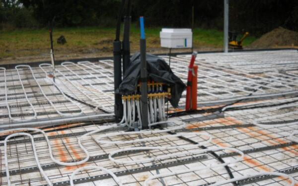 Nyt helårshus med jordvarmeanlæg