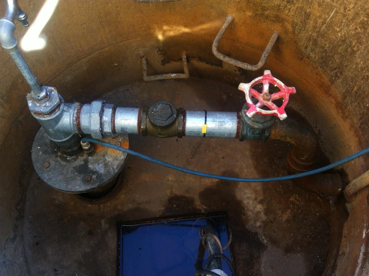 Renovering af drikkevandsboringer for Tørresø Strands Vandværk - FØR-BILLEDE: