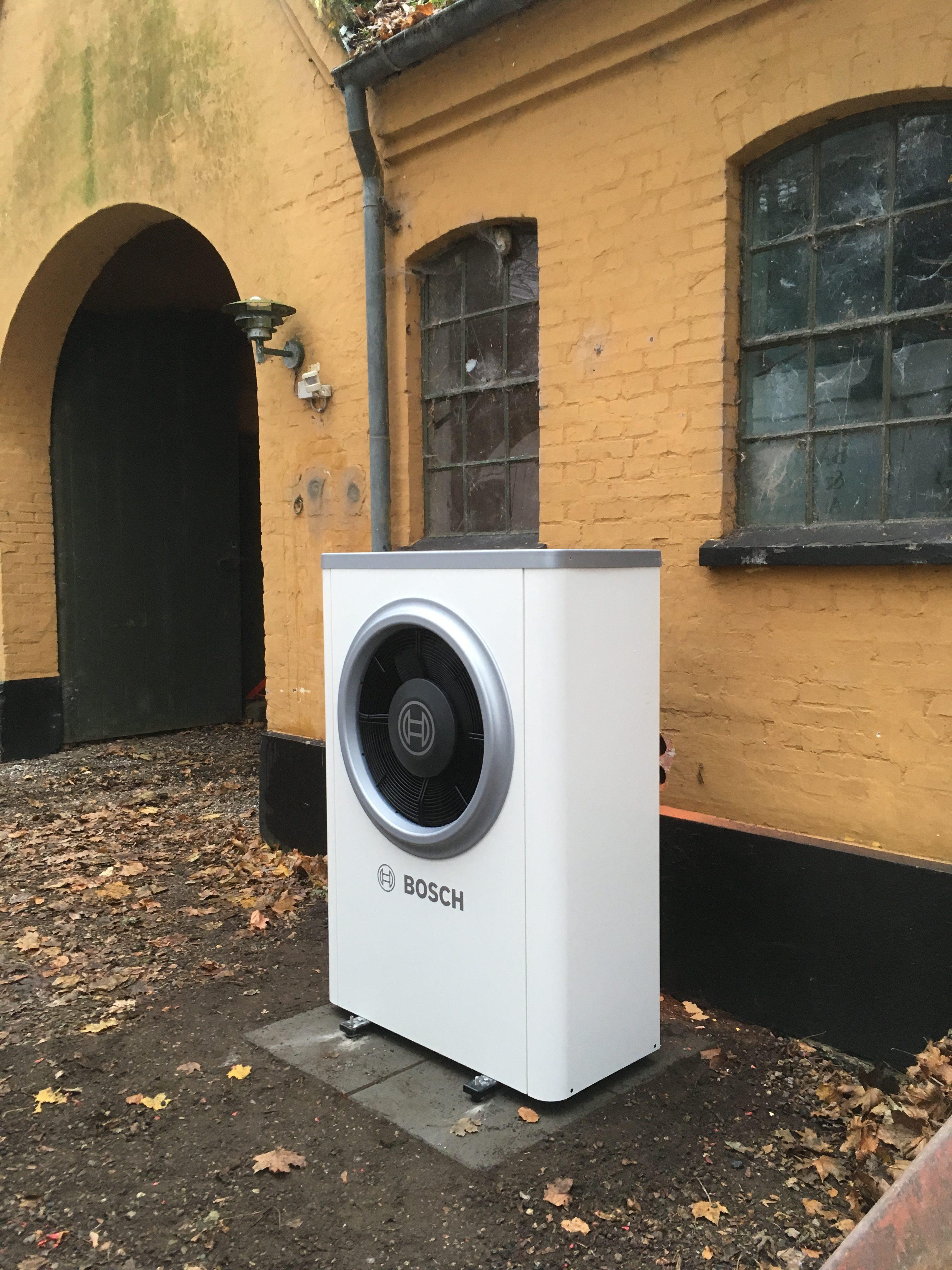 Nyt luft/vand-varmepumpeanlæg EFTER-BILLEDE
