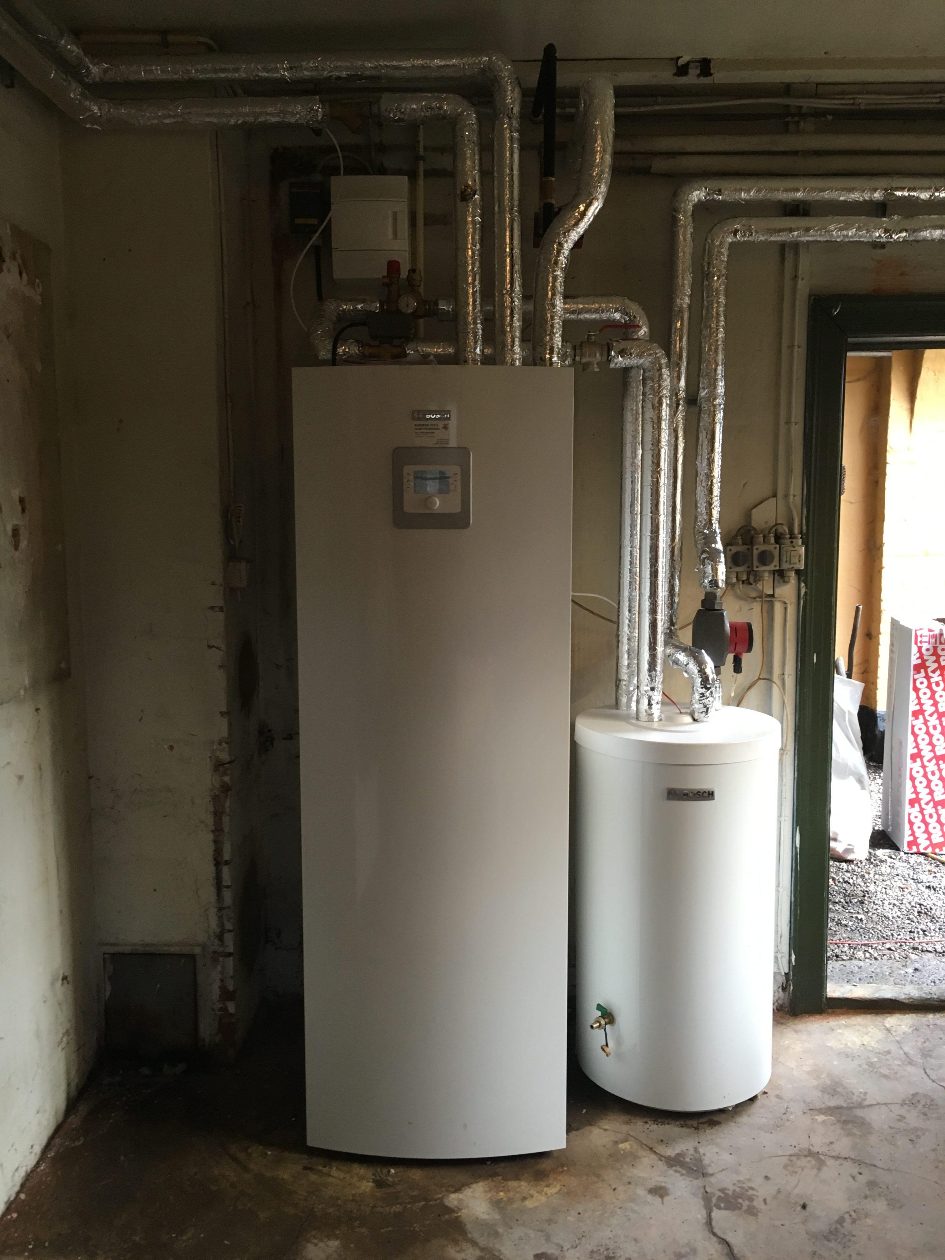 Ny luft/vand - varmepumpeanlæg EFTER-BILLEDE