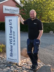 Peter H. Jensen ejer Bårdesø VVS & Energi A/S